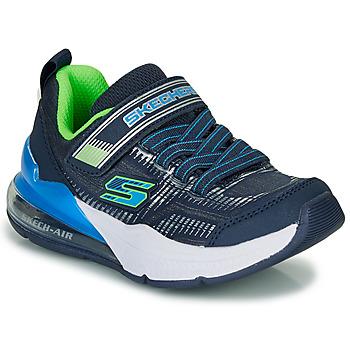 Zapatos Niño Zapatillas bajas Skechers SKECHERS BOY Azul / Verde