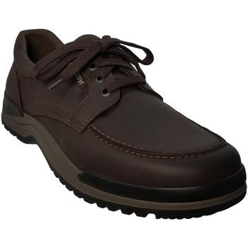 Zapatos Hombre Derbie Mephisto CHARLES Cuero marrón