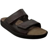 Zapatos Hombre Zuecos (Mules) Mobils By Mephisto JAMES Cuero marrón