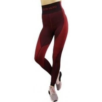 textil Mujer leggings Gymhero Leggins rojo