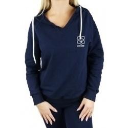 textil Mujer sudaderas Gymhero Hoodie azul