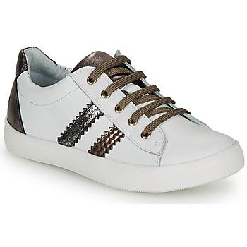 Zapatos Niña Zapatillas bajas GBB MAPLUE Blanco