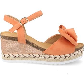 Zapatos Mujer Alpargatas Milaya WH-3M55 Naranja