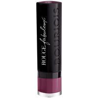 Belleza Mujer Pintalabios Bourjois Rouge Fabuleux Lipstick 015-plum Plum Pidou 2,4 g