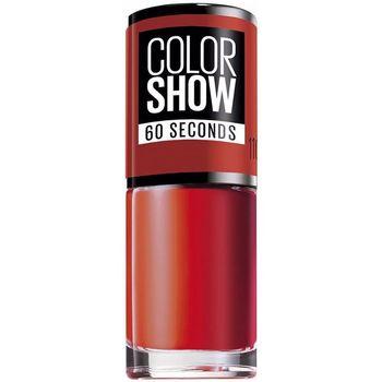 Belleza Mujer Esmalte para uñas Maybelline Color Show Nail 60 Seconds 110-urban Coral 7 ml