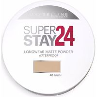 Belleza Mujer Colorete & polvos Maybelline New York Superstay Powder Waterproof 040-fawn 9 g
