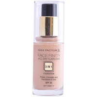 Belleza Mujer Base de maquillaje Max Factor Facefinity All Day Flawless 3 In 1 Foundation 77-softhoney