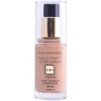 Belleza Mujer Base de maquillaje Max Factor Facefinity All Day Flawless 3 In 1 Foundation 85-caramel 30 m