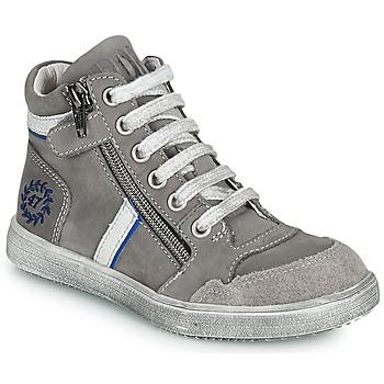 Zapatos Niño Botas de caña baja Ramdam HOUSTON Gris
