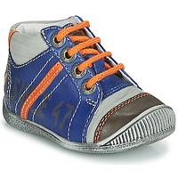 Zapatos Niño Botas de caña baja GBB ISIS Azul / Naranja