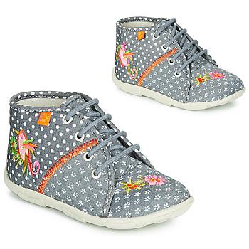 Zapatos Niña Pantuflas GBB GANLANTINE Gris