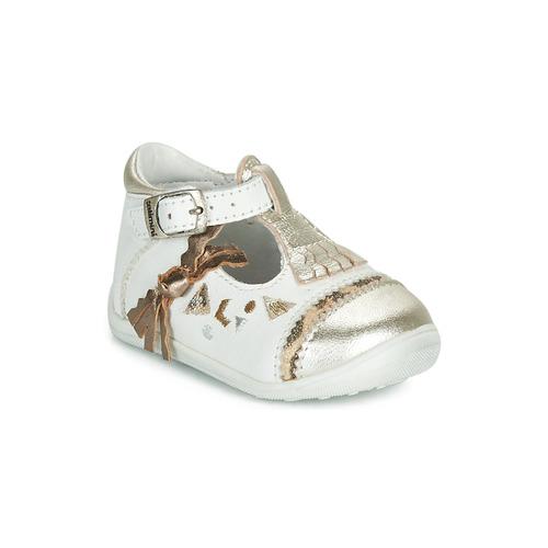 Zapatos Niña Bailarinas-manoletinas Catimini CANETTE Blanco