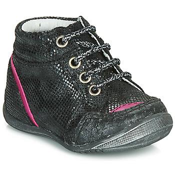 Zapatos Niña Botas de caña baja GBB LAURE Negro