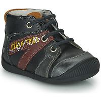 Zapatos Niño Botas de caña baja GBB LEWIN Negro