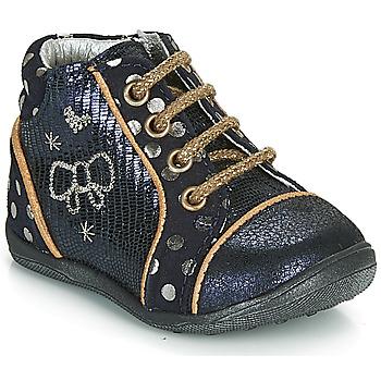 Zapatos Niña Botas de caña baja Catimini CARASSIN Marino / Oro