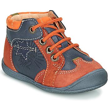 Zapatos Niño Botas de caña baja Catimini CARACAL Azul