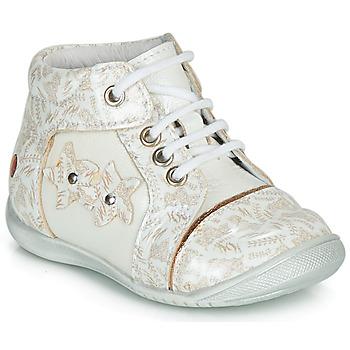 Zapatos Niña Botas de caña baja GBB MAE Blanco