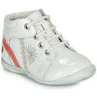 Zapatos Niña Botas de caña baja GBB MELANIE Blanco