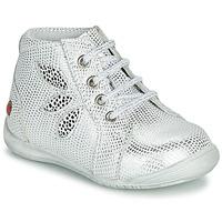 Zapatos Niña Botas de caña baja GBB MANON Blanco