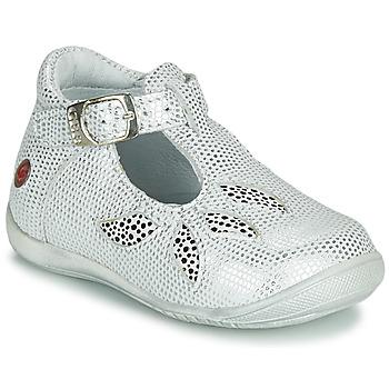 Zapatos Niña Sandalias GBB MARIE Blanco / Plata