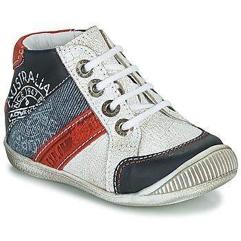 Zapatos Niño Botas de caña baja GBB MAURICE Blanco