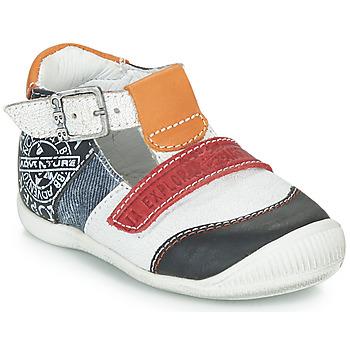 Zapatos Niño Sandalias GBB MARTIN Blanco / Marino
