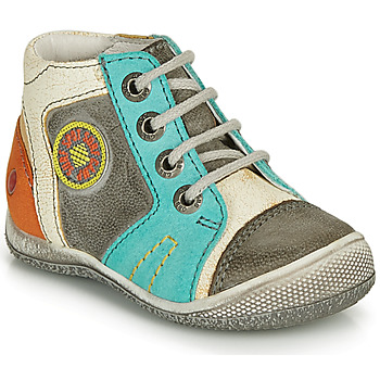 Zapatos Niño Botas de caña baja GBB MONTGOMERY Gris / Azul