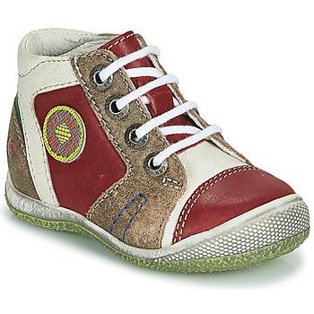 Zapatos Niño Botas de caña baja GBB MONTGOMERY Rojo