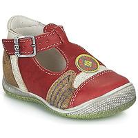 Zapatos Niño Sandalias GBB MARIO Rojo