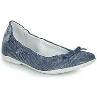 Zapatos Niña Bailarinas-manoletinas Ramdam KIKI Azul