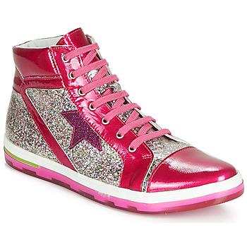 Zapatos Niña Zapatillas altas Ramdam KATO Rosa