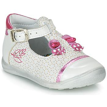 Zapatos Niña Sandalias Catimini CALATHEA Blanco / Rosa