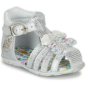 Zapatos Niña Sandalias Catimini CYGNE Plata