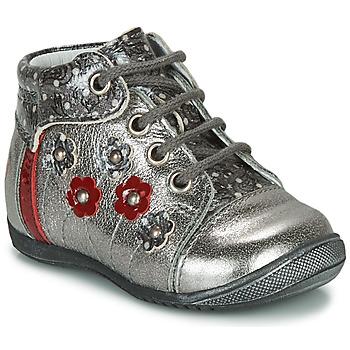 Zapatos Niña Botas de caña baja GBB NAYANA Plata