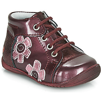 Zapatos Niña Botas de caña baja GBB NEIGE Burdeo