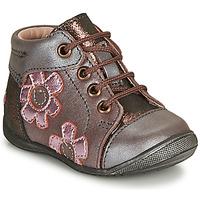 Zapatos Niña Botas de caña baja GBB NEIGE Violeta / Rosa