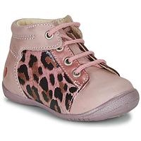 Zapatos Niña Botas de caña baja GBB NELLY Rosa / Negro