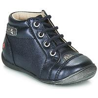 Zapatos Niña Botas de caña baja GBB NICOLE Marino / Plata