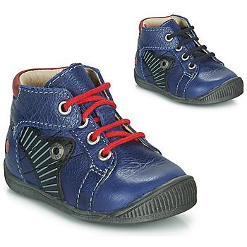 Zapatos Niño Botas de caña baja GBB NATALE Azul / Rojo