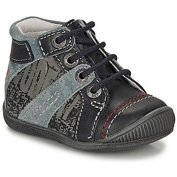 Zapatos Niño Botas de caña baja GBB NOLAN Gris / Azul