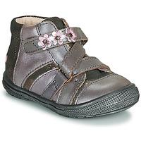 Zapatos Niña Botas de caña baja GBB NICOLETA Madera / De / Rosa