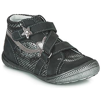 Zapatos Niña Botas de caña baja GBB NINA Negro / Plata