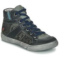 Zapatos Niño Botas de caña baja GBB NESTOR Kaki / Marino