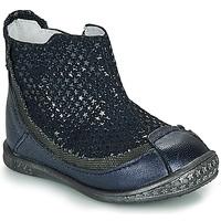 Zapatos Niña Botas de caña baja Ikks SCARLET Azul