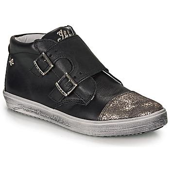 Zapatos Niña Zapatillas altas Ikks BIANCA Negro