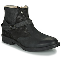 Zapatos Niña Botas de caña baja Ikks JANE Negro