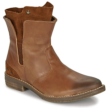 Zapatos Niña Botas de caña baja Ikks PAMELA Cognac