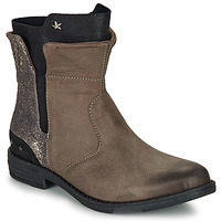 Zapatos Niña Botas de caña baja Ikks PAMELA Topotea / Dorado