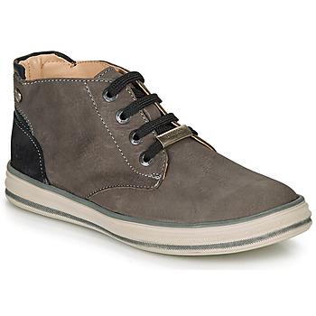 Zapatos Niño Zapatillas altas Ikks MARK Gris