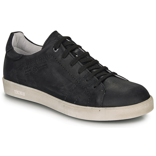 Zapatos Niño Zapatillas bajas Ikks JACOB Negro